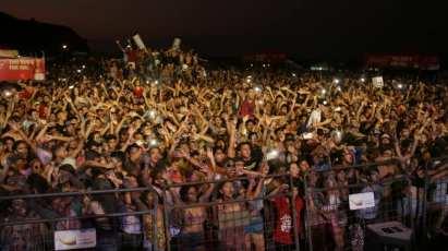 El público que hizo grande el Manta Music Fest (Antes, Mariana Music Fest) celebrado en la playa de San Mateo.