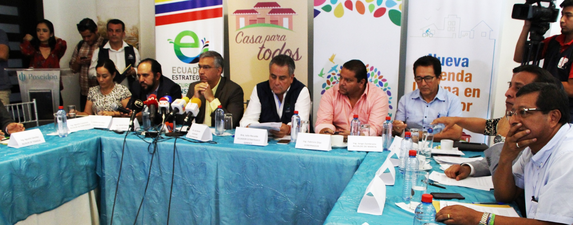 Casa para todos: municipios de Manabí comprometen espacios habilitados