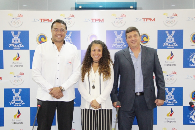 Organizadores y auspiciante de la Copa Surf TPM de Manta. Manabí, Ecuador.
