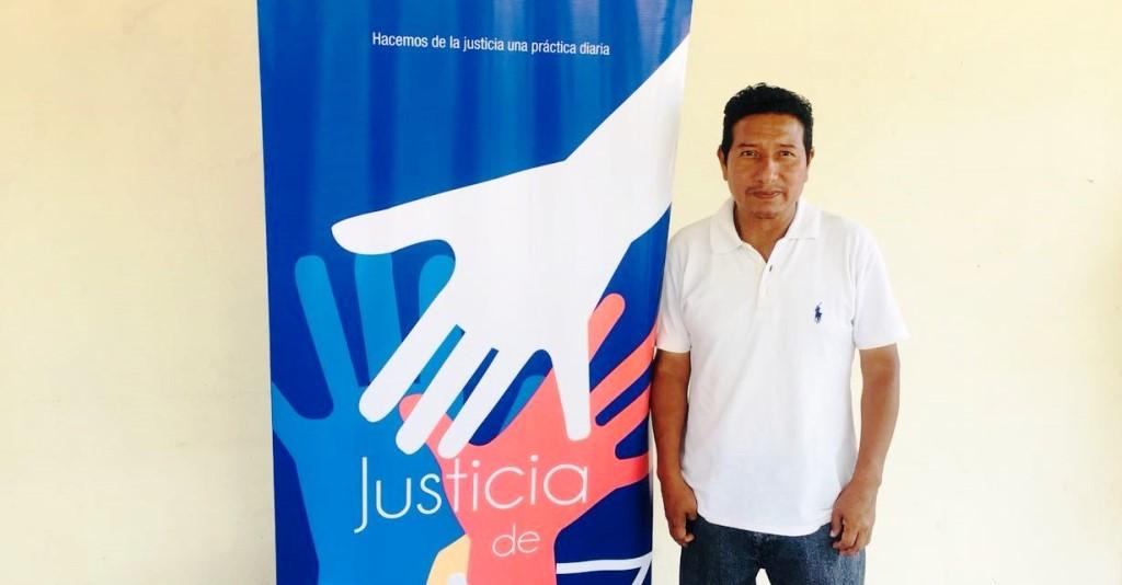 Adolfo Inocencio Tomalá Vásquez, juez de paz de la Parroquia Machalilla, Cantón Puerto López. Manabí, Ecuador.