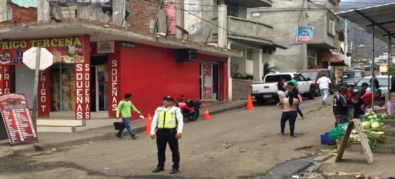 Calle El Oro, Montecristi. Manabí, Ecuador.