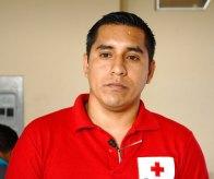 Carlos Luis Morales, de la Cruz Roja de Chone.