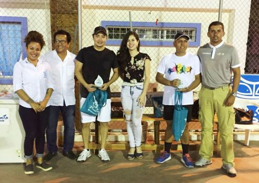 Efrén Saltos y Javier Ortiz, vicecampeones dobles
