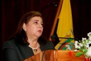Myriam Félix López, miembro del Consejo de Participación Ciudadana y Contrl Social (CPCCS) transitorio.