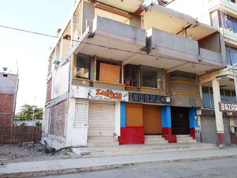 Esto queda del popularísimo Bazar Lorena, de Humberto Espinoza.