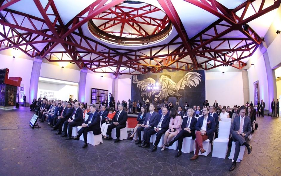 La XIX Cumbre Judicial Iberoamericana, celebrada en la ciudad de Quito, Ecuador, fue clausurada con ceremonia especial en la Capilla del Hombre, de la Fundación Guayasamín.