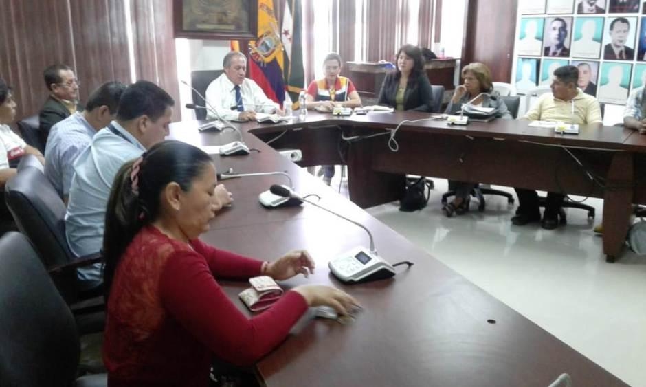 Elección del nuevo Directorio del Comité Obrero-Patronal del Gobierno municipal de Chone. Manabí, Ecuador.