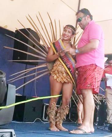 Festival del Coco, reina