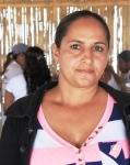 Verónica Cornejo, madre de una niña participante en un curso deportivo vacacional impulsado por el Municipio de Manta. Manabí, Ecuador.