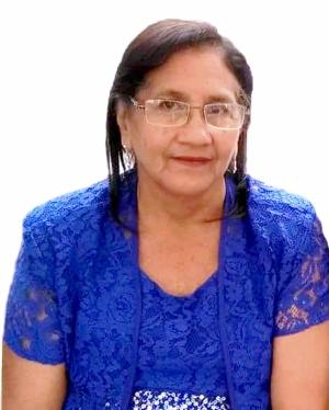 Ana Jacinta Velásquez Bailón de Rosado, Madre Símbolo 2018 de Radio Carrizal de Calceta. Manabí, Ecuador.