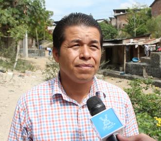 El líder de la Federación de Barrios de la Parroquia Eloy Alfaro de Manta.