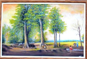 Esta pintura habla por sí sola.