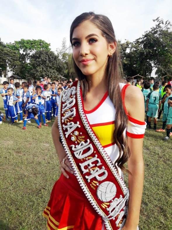 Nurkia Solórzano Escandón, la reina del campeonato.
