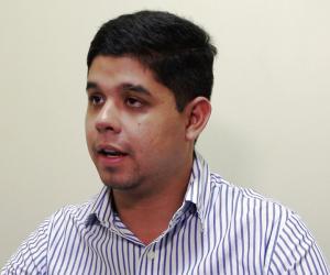 Manuel Barberán, director de gestión de riesgos del Gobierno municipal de Manta. Manabí, Ecuador.