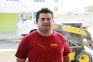 Morador José Cedeño, comerciante, Barrio Buenos Aires, Tarqui, Manta.