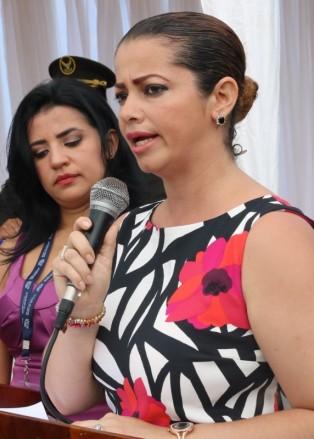 Ivón Chica Pinargote, subdirectora de Cultura y Patrimonio en el Gobierno municipal de Chone.