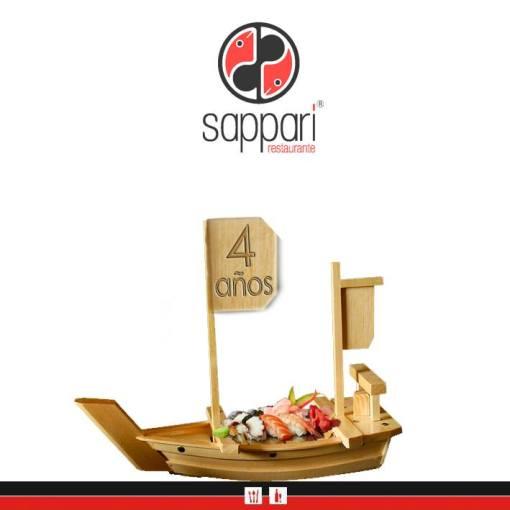 El simbolismo de la comida extraída del mar y el 4to. aniversario de Sappari Restaurante.