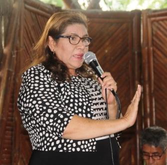 Lourdes Zambrano, magíster en Administración Hospitalaria, jubilada del Ministerio de Salud Pública y de la UTM.