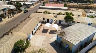 Panorámica del nuevo recinto, en Urbirríos de Manta.