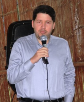 Patricio Ernesto García Vallejo, abogado y magíster en Administración Pública.