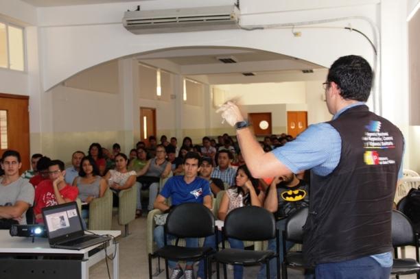 ARCSA en la Universidad Técnica de Manabí, UTM.