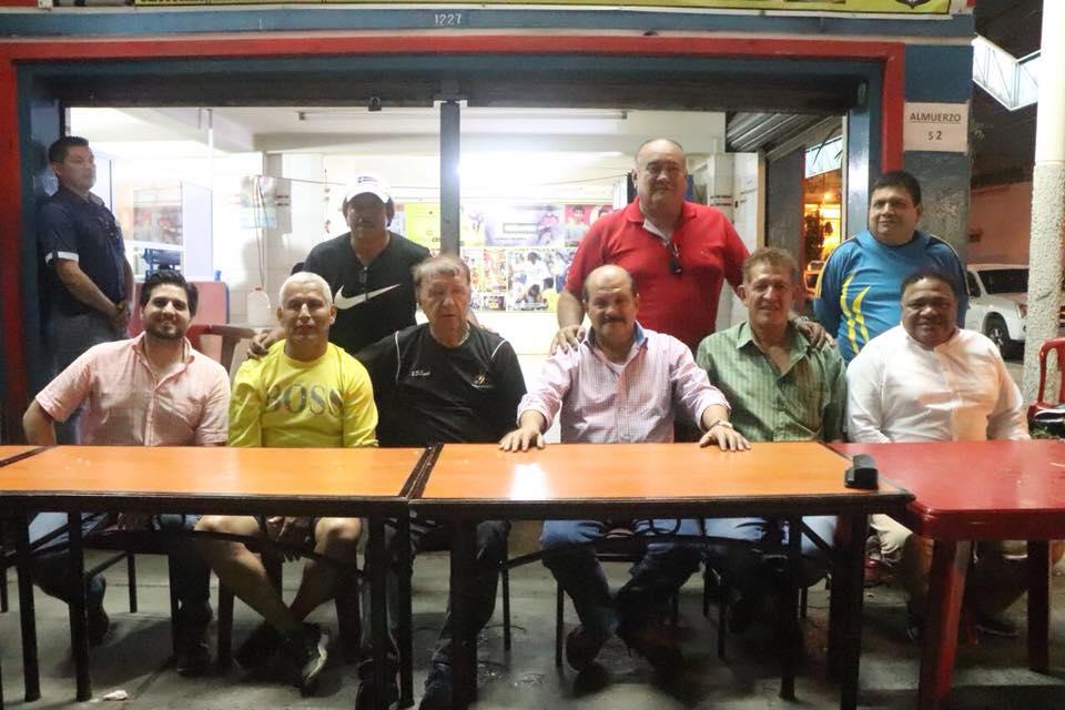 """Carlos Bergmann Reyna en casa de Víctor """"Espartaco"""" Mendoza, en Guayaquil."""