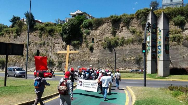 Primera etapa: Quito - Pifo (21 km).