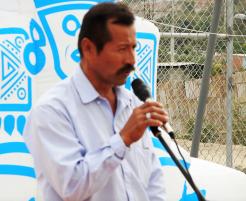 José Figueroa, presidente del Consejo Barrial.