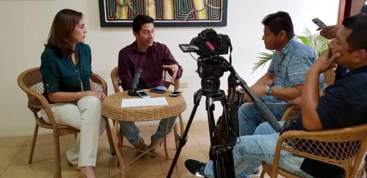 Informan de la nueva temporada de Cine a Orillas del Mar en Manta. Manabí, Ecuador.