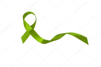 El lazo verde por el Día Mundial del Linfoma.