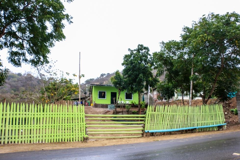 Una quinta de Lugüiqui, zona de la costa rural de Manta. Manabí, Ecuador.