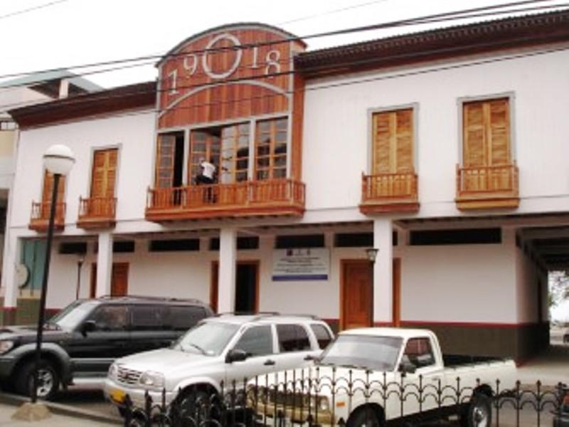 Sede del Museo Etnográfico Cancebí, Manta. Manabí, Ecuador.