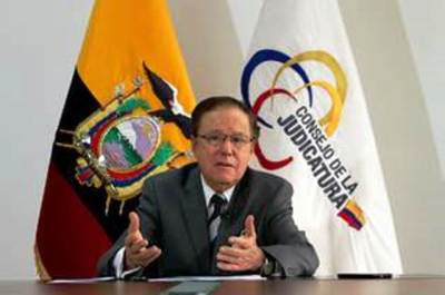 Marcelo Merlo Jaramillo, presidente del Consejo de la Judicatura (CJ) de Ecuador (Quito).