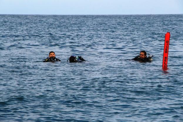 Emergen del Arrecife Perpetuo Socorro de Manta, Ecuador.