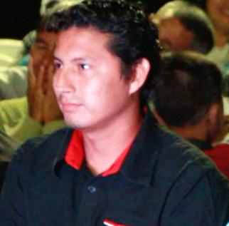 Boris Franco Biller, presidente de la Federación de Barrios de San Mateo, Manta.