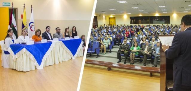 La celebración en Portoviejo por el Día del Servidor Judicial Ecuatoriano. Manabí, Ecuador.
