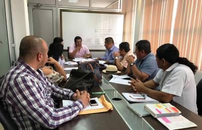 Miembros del Concejo municipal de Montecristi. Manabí, Ecuador.