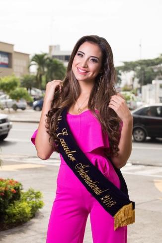 Michel Huet, Miss Ecuador International 2018.