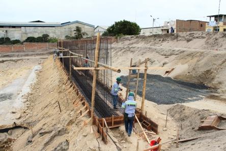 Aprovechando la inclinación del terreno, se harán algunas terrazas para los diferentes espacios del Museo.