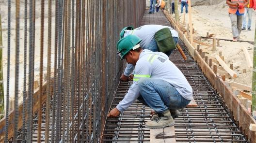 Los constructores han tomado todas las medidas técnicas que garanticen la solidez del edificio a pesar de los riesgos que presenta el lugar.