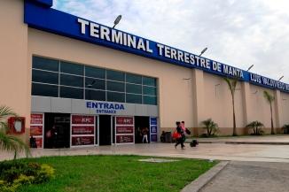 La entrada principal al edificio.