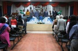 La sesión solemne del Gobierno parroquial de Santa Marianita.