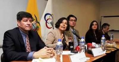 Mesa por la Verdad y la Justicia, del Consejo de la Judicatura. Quito, Ecuador.