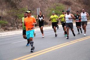 Competidores de la media maratón.