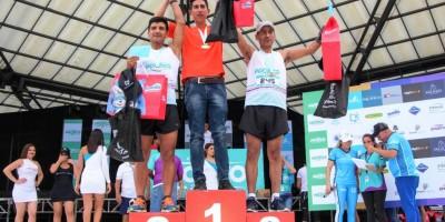 Ganadores de la media maratón Ruta del Pacífico 2018. Manabí, Ecuador.