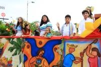 Niños y jóvenes recuerdan el pasado aborigen de lo que hoy es el Cantón Manta.