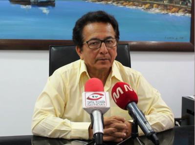 Jorge Zambrano Cedeño, alcalde de Manta. Manabí, Ecuador.