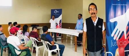 Wilmer Secundino Chilán Tumbaco, juez de paz en la Parroquia Julcuy del Cantón Jipijapa. Manabí, Ecuador.