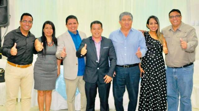 Anuncian la precandidatura de Edison Barcia para concejal del Cantón Manta. Manabí, Ecuador.