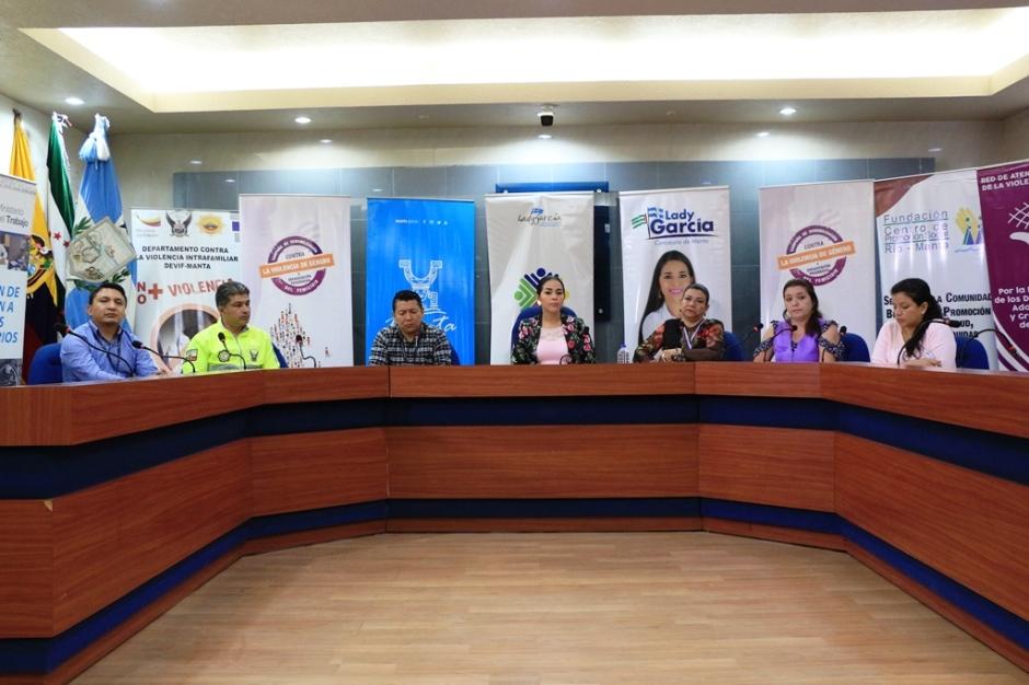 Promotores de la no violencia contra las mujeres, Manta